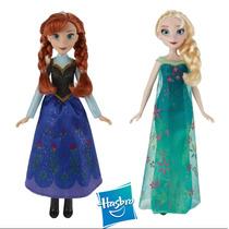Muñeca Frozen Disney Princesas Hasbro Elsa - Anna
