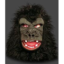 Máscara Animal Gorila Macaco C/ Pelo - Terror / Carnaval