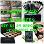 Kit De Cosmeticos Corrector Mac Sombra Naked Set Brochas