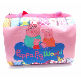 Bolso Cartera Baul Tipo Furla Peppa Pig Disney Regalo