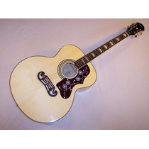 Guitarra Epiphone Ej 200 N Garantia Factura