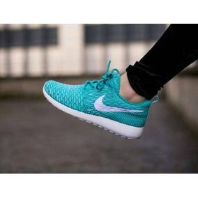Deportivos Nike Roshe Run Flyknit 2016 Dama Y Caballero