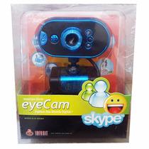 Webcam Azul Infokit Com Microfone 16.0 M Pixels - N-100