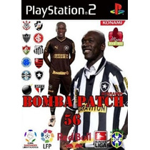 We Winning Eleven Bomba Patch 56 Ps2 Jogo Futebol Ps 2 Play2