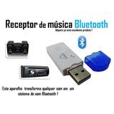 Transmissor Bluetooth Usb Celular Mp3 Pen Drive Som Carro