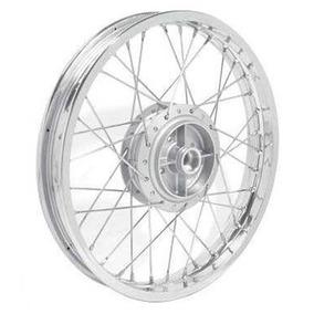 Roda Completa Dianteira Ybr 125 / Factor 125 Tambor Diafrag