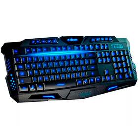 Teclado Gamer Luminoso Led Neon Dpi Usb Dota Tecla Ç A2