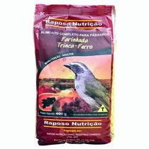 Ração Pássaro Farinhada Trinca Ferro 4kg Raposo Nutrição