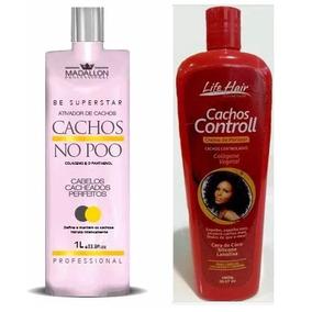 Creme De Pentear Cachos Controll Life Hair + No Poo Madallon