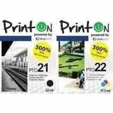 Cartucho Hp Printon 21xl Negro 22xl Color Combo Venta X 2