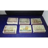 Cajas De Fósforos De Colección Fragata Veleros