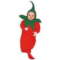 Disfraz Para Niño Traje Infantil Pimiento Rojo Caliente Bun