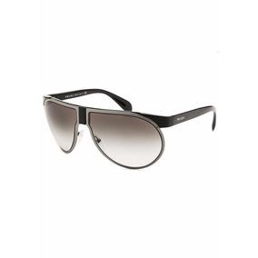 Lentes Gafas De Sol Prada Pr23ps Aviador Genuinos Gunmetal