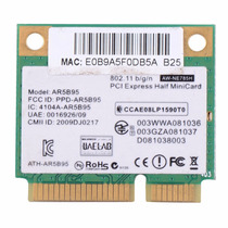 Placa Wifi Wireless Atheros Ar5b95 Notebook 802.11 B/g/n