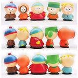 Kit 5 Bonecos South Park Cartman Kenny Stan Frete Gratis