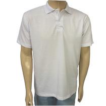 Camisa Polo Branca Básica Enfermagem Uniforme Médico Restaur