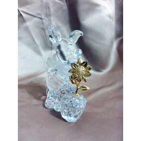 Puerquito De Disney Winnie The Poo Cristal De Plomo Leno