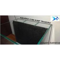 Aquario Marinho Com Sump Traseiro - Vidro 6mm - 110litros