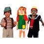 Fantasia Chaves, Chiquinha E Kiko Infantil Turma Do Chaves
