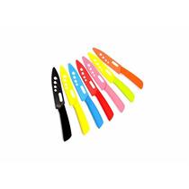 Set De Cuchillos De Cerámica En Colores De Alta Calidad