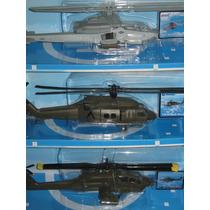 Helicopteros De Metal Y Plastico Die Cast, Escala. 1:55