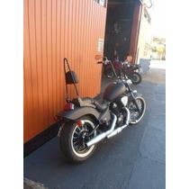 Sissybar Encosto Traseiro Easy Rider Shadow 600 Preto Fosco