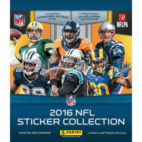 Figurinhas Avulsas Nfl 2016 Sticker Collection Panini