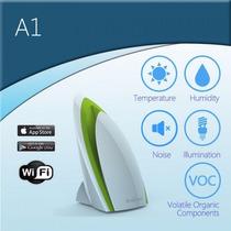 Sensor Broadlink A1 Automação Residencial Umidade Som Luz