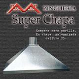 Campana Para Parrilla, Ventilacion, Zingueria, Chimeneas