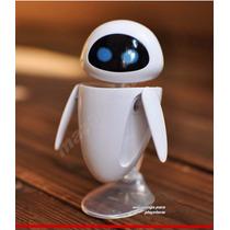 Miniatura Robô Eve 9,5cm - Pronta Entrega - Filme Wall - E