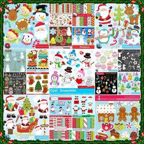 183 Kits Scrapbook Digital Natal - O Mais Completo