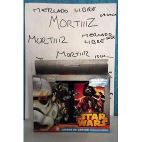 2 Juego Barajas Poker Star Wars Heroes Villanos Metálica
