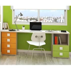 escritorio juvenil laqueado muebles infantiles