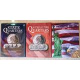Coleccionador Para Monedas Cuartos De Dolar 25 Ctvs Nuevos