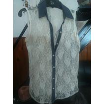 Camisa Transparente Y Jean