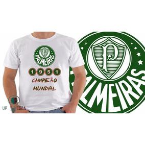 Bola Retr  Palmeiras 1951 - Camisetas e Blusas no Mercado Livre Brasil 234945a644626
