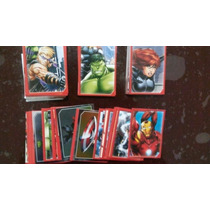 Coleccion Avengers Assemble Lote Estampa Album Panini Marvel