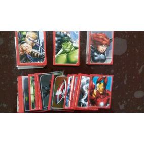Coleccion Avengers Assemble Lote Estampa Album Panini Marvel