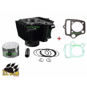 Kit Cilindro Motor Shineray 50cc Para 75cc Com Juntas