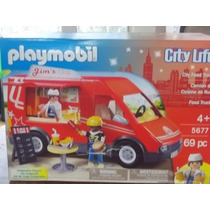 Playmobil City Life Camion De Comida 5677