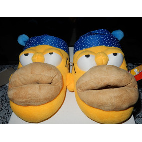 Pantuflas Arra Los Simpsons Homero Originales Nuevas $450