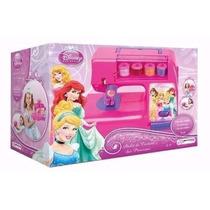 Máquina De Costura Infantil Atelie Das Princesas Disney Rosa