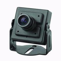 Mini Camera Ccd 600linhas Lente 3.6mm Com Ajuste Focal