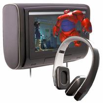 Combo Cabecera Pantalla Touch + Audifonos Ir Power Acoustik