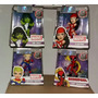Set 4lady Deadpool,shehulk,elektra Captain Marvel Jada Toys