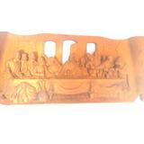 Santa Ceia Doze Apóstolos De Cristo Esculpida Na Jaqueira