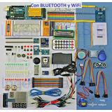 Arduino Uno. Kit Starter Full,para. Gratis Envío+ Wfii+ Blue