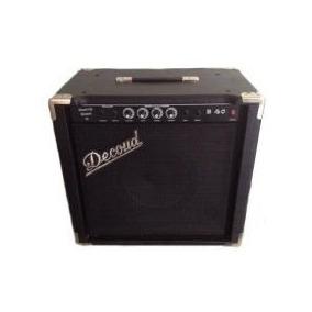 B40 Decoud Amplificador Para Bajo 40w Rms Con Parlante 10