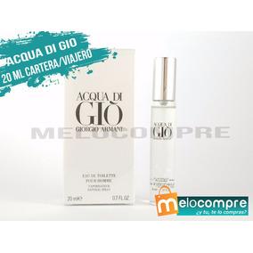 Perfumes Originales Caballeros Dama Cartera 20ml Maquillaje