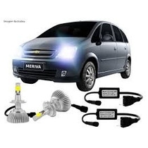 Kit Par Lampada Hb3 9005 Xenon Super Led 7000k Drl